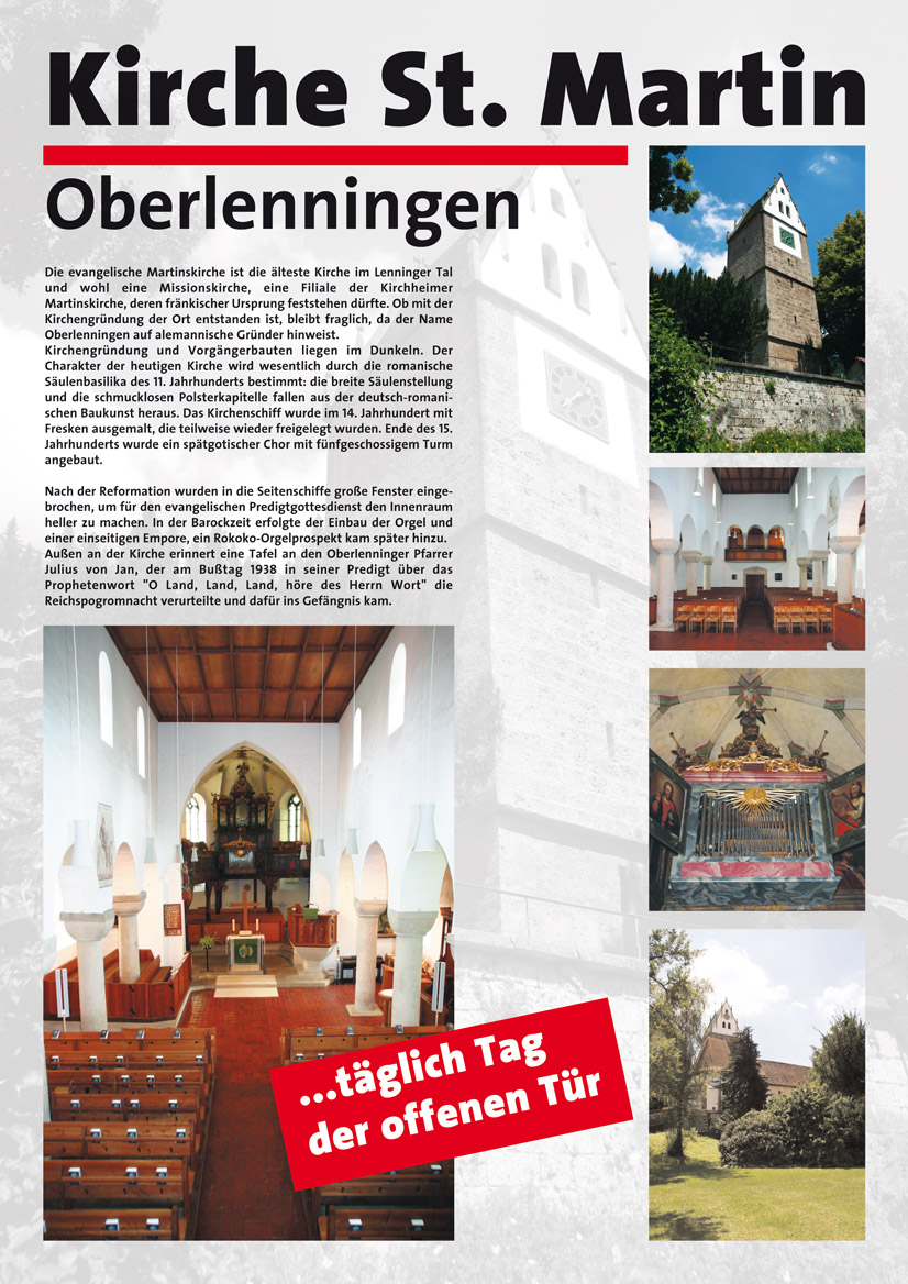 Poster der St. Martinskirche